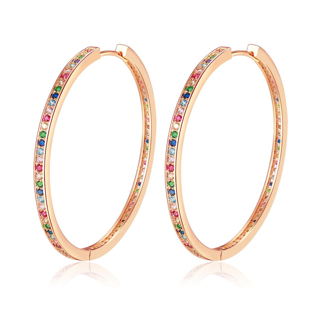 Tashy Earrings in Rosegold