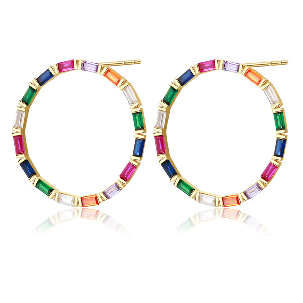 Vida Colorful Hoops