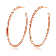 Lucy Rose Gold Hoops