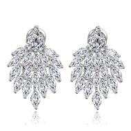 Brooklyn Designer Cubic Zirconia Earrings