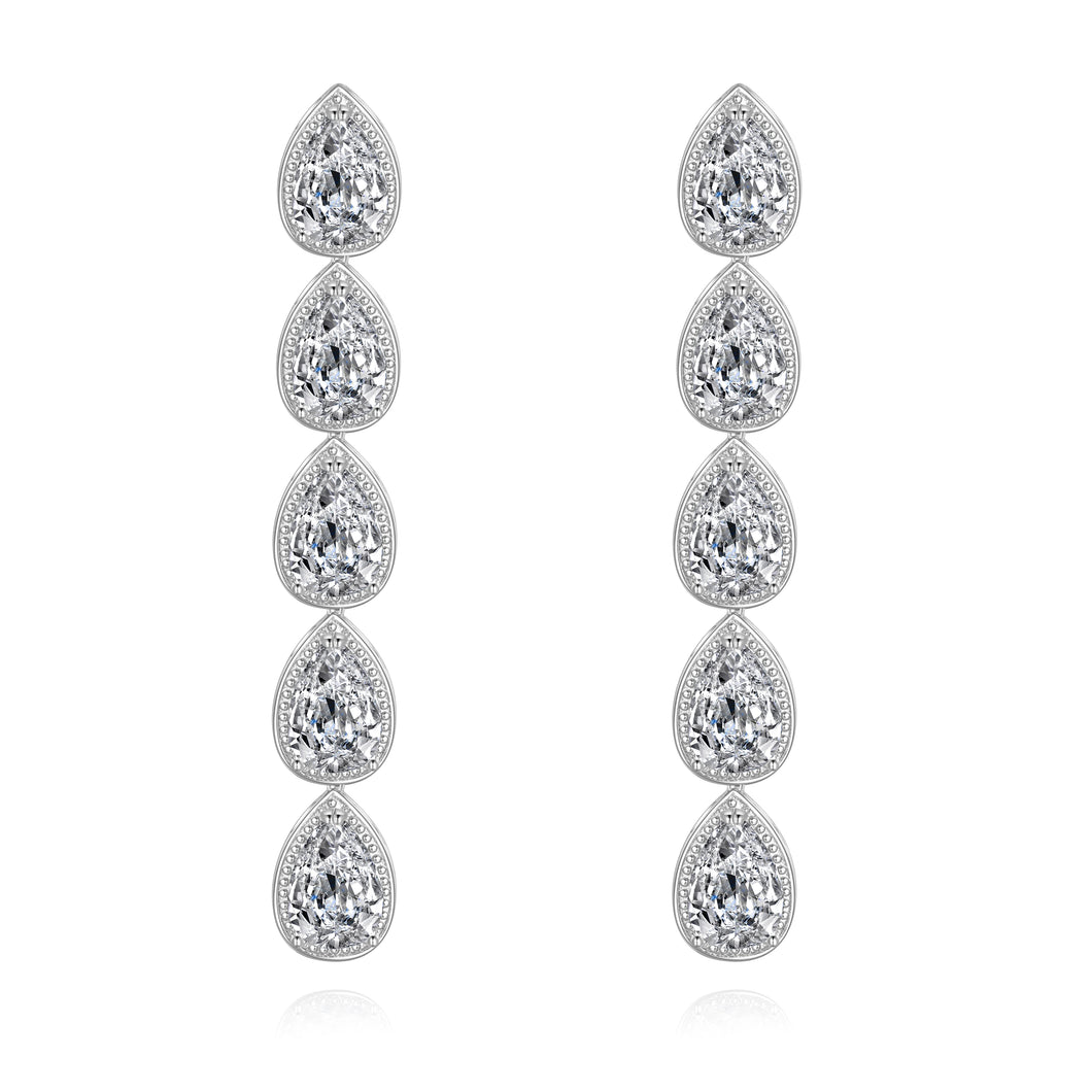 Madeline Long Drop Earrings