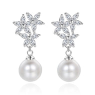 Hayley Pearl Earrings