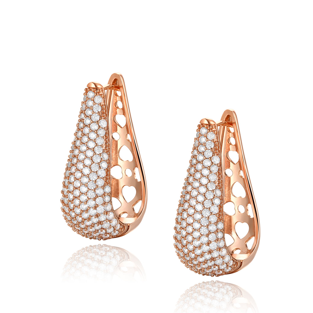 Gloria Heart Earrings