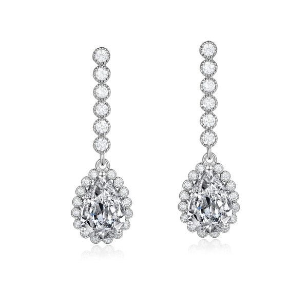 Charlotte Silver Earrings