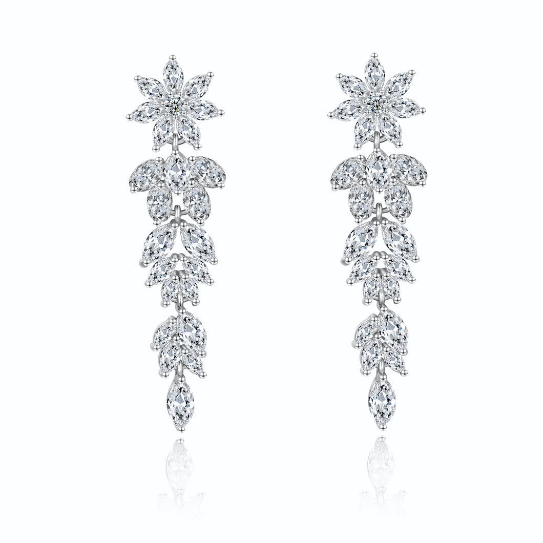 Carey Icon Designer Cubic Zirconia Earrings