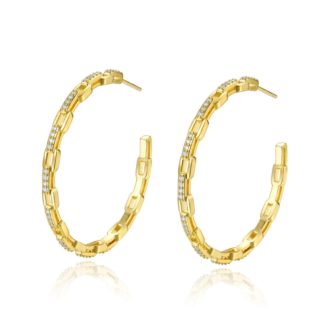 Dina Gold Hoops