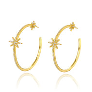 Kinsley Gold Hoops