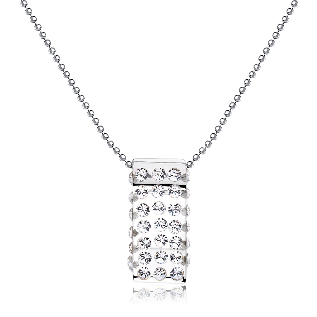 Michelle Transparent Floating Crystal Pendant