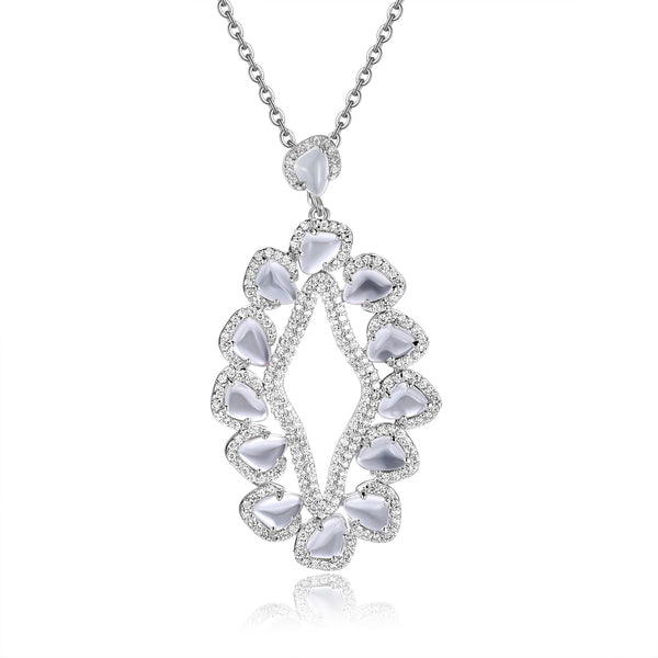 Doria Pendant in Crystal Clear