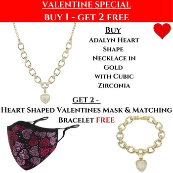 VALENTINES SPECIAL: Adalyn Heart Set & Valentines Mask!