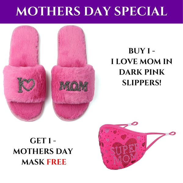 Mother's Day GLAMPERS! Pink I LOVE MOM