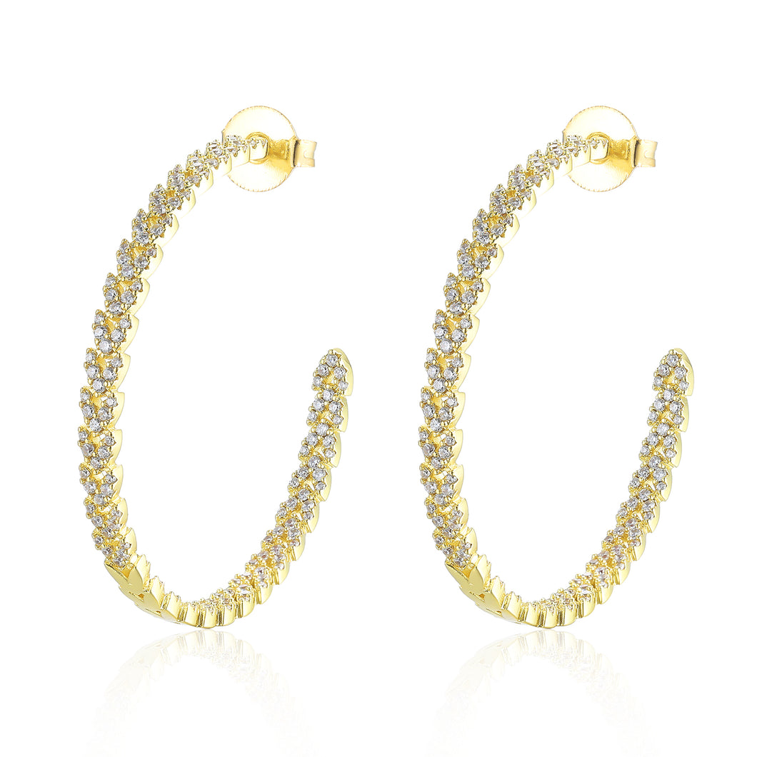Amille Designer Crystal Earrings