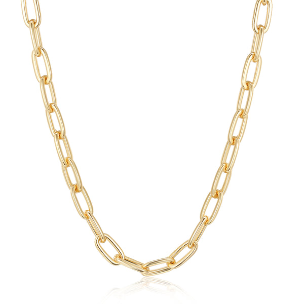 Becca Designer Necklace in Gold