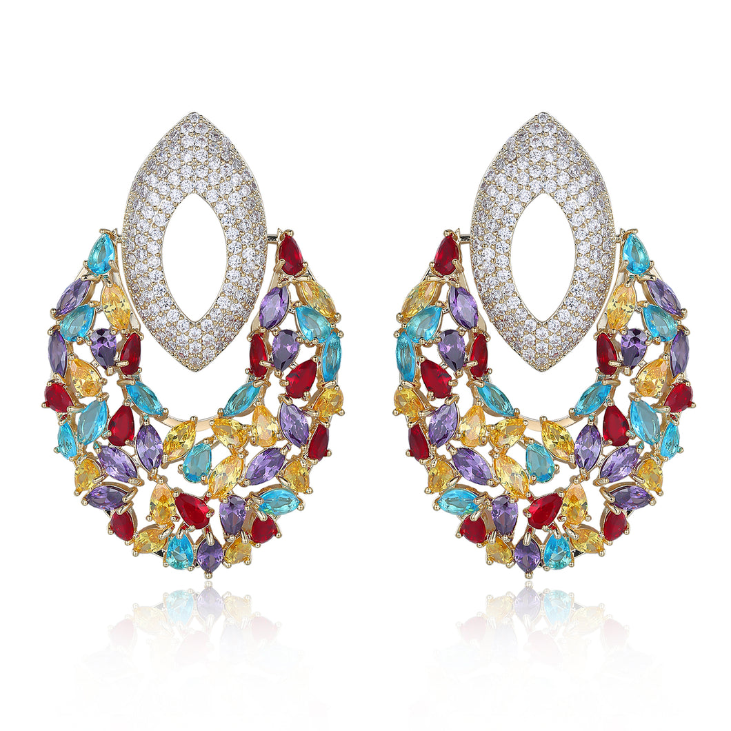 Francesca Designer Colorful Earrings