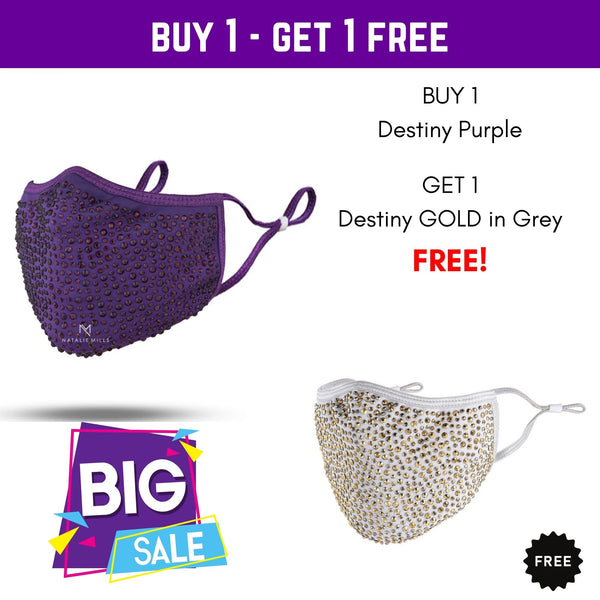 End of Season Sale! Buy 1 Purple, Get 1 Grey FREE