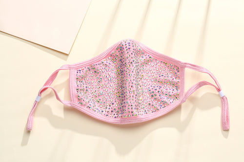 DESTINY CRYSTAL FACE MASK - PINK