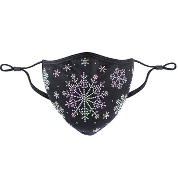 CHRISTMAS COLLECTION - DESIGNER SNOWFLAKE IN BLACK