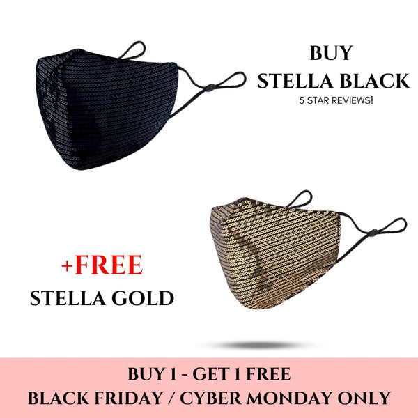 STELLA HOLIDAY SPECIAL - BUY 1 BLACK, GET 1 GOLD FREE