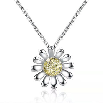 Janice Sunflower Necklace