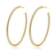 Lucy Gold Hoops