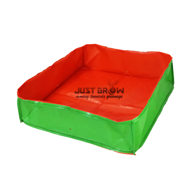 HDPE Grow Bags 12 x 12 x 6 inches Rectangular | justgrow