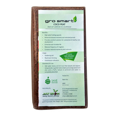 Cocopeat 650 gms | Just Grow