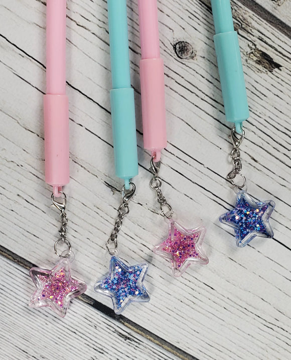 Star Charm Kawaii Pens