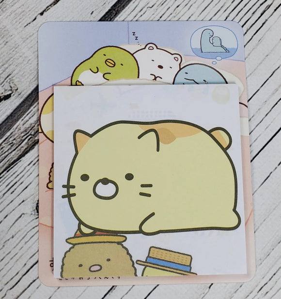 Yellow Cat San-X Sticky Notes