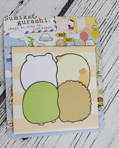 Four Friends San-X Sticky Notes