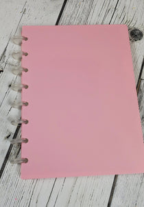 Pink Pastel Ring Notebook