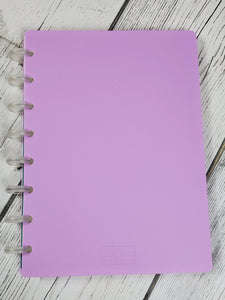 Purple Pastel Ring Notebook