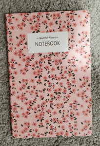 Beautiful Flowers Pink & Red Notebook