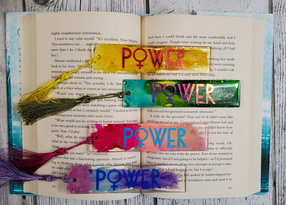 August Box - Resin Bookmarks