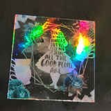 Alice in Wonderland - Holographic Sticker