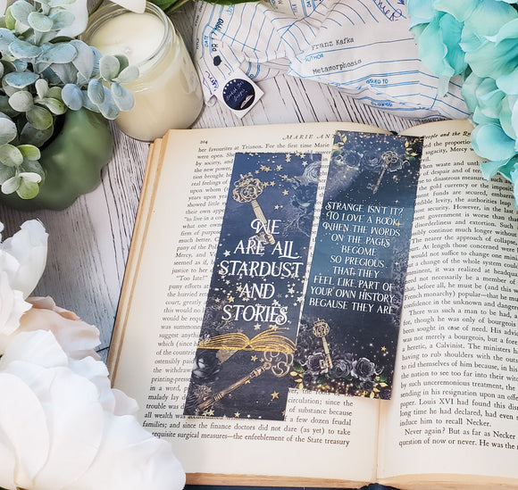 The Starless Sea Double Sided Bookmark - bibliophileprints