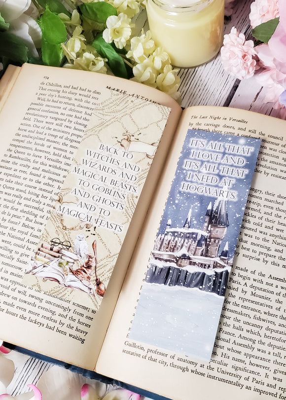 Harry Potter Musical Quotes Double Sided Bookmark