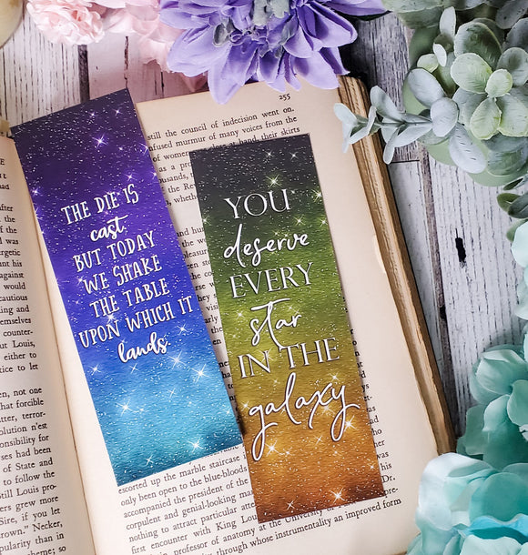 Illuminae Seires Quotes Double Sided Bookmark