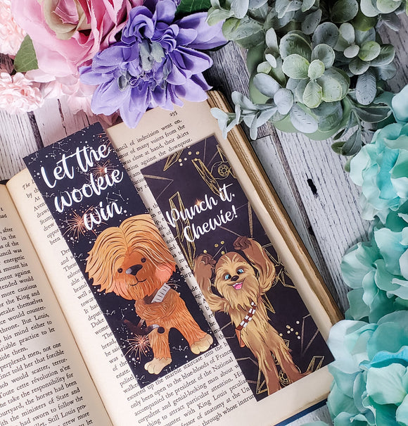 Wookie Quotes Double Sided Bookmark