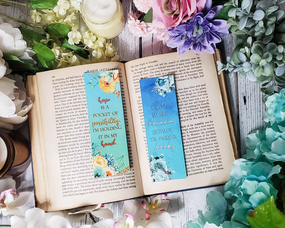 Shatter Me Quotes Double Sided Bookmark