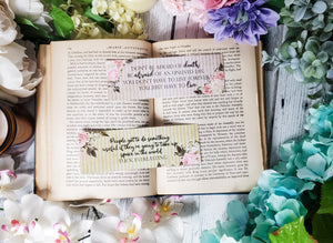 Tuck Everlasting Quotes Double Sided Bookmark - bibliophileprints