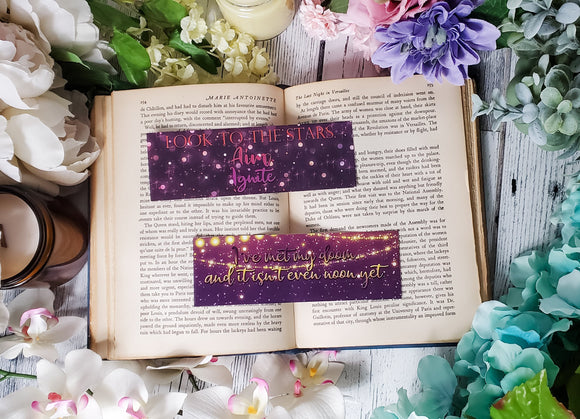 Geekerella Quotes Double Sided Bookmark