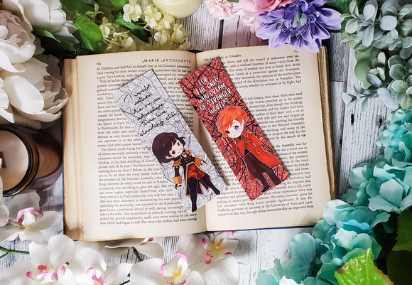A Darker Shade of Magic Quotes Double Sided Bookmark