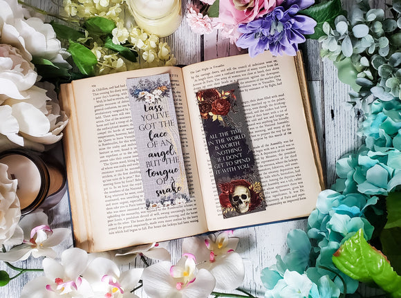 Daughter of the Pirate King Quotes Double Sided Bookmark - bibliophileprints