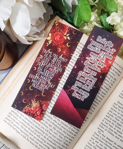 Crescent City Quotes Double Sided Bookmark - bibliophileprints