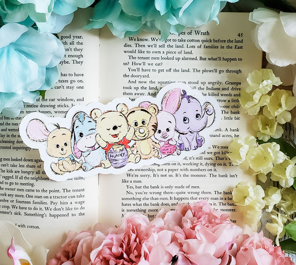 Pooh Bear  Diecut Bookmark