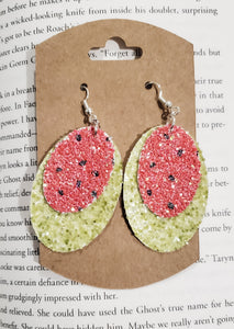 Watermelon Layered Earrings - bibliophileprints