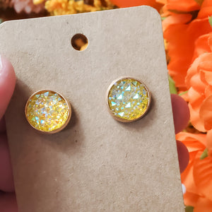 Stud Earrings inspired by Finale Earrings - bibliophileprints