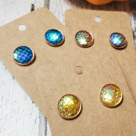 Stud Earrings inspired by The Inheritance Cycle Series - bibliophileprints
