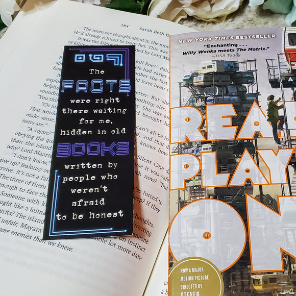 Ready Player One Bookmark