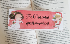 The Christmas Spirit Awakens - Star Wars Bookmark